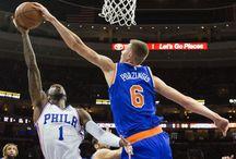 "Kristaps Porzingis / Our favorite blocked shots and dunks by Latvia's most popular man, The Knicks' 7'3"" tall Kristaps porzingis."