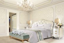 Classic elegance for a first-class hospitality / Hotel room interior, luxury hotel interior, luxury interior design, modern hotel furniture
