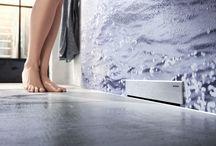 Geberit Duş Çözümleri / Modern banyo tasarımlarında özgürlük sağlayan, yenilikçi, zarif, duş drenajları...