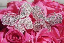 Beautiful Butterflies for Wedding & Prom! / Visit us anytime at www.affordableelegancebridal.com for elegant, affordable accessories!