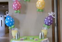 Easter / Easter balloon decor