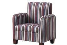Kids Upholstered chairs / Upholstered chairs for kids in various designs and fabrics. Toddler Chairs 1 - 6 and Junior chairs 6 years and up.