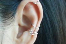 • Piercings