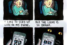 Comics, deep dark fears
