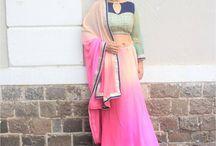 indian saree & Blouse pattern