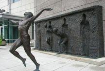 "FREEDOM SCULPTURE / ""Freedom Sculpture"" by Zenos Frudakis in Philadelphia, Pennsylvania"