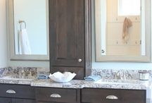 BATH VANITY CONCEPTS / Craig W. Morgan Enterprises Inc. can makeover your existing vanities with new door & drawer fronts, hardware & a refinished paint or stained wood look.