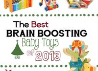 Toys to boost baby's brain