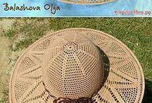sombreros de crochet