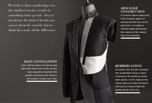 Tailoring jackets and coats