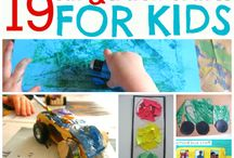 Crafty Corner / Fun crafty thing to do with the kids!