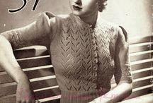 Vintage strikk