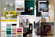 Interiors-mood boards / by Kyra Williams
