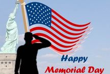 Memorial Day / Celebrate our troops and veterans with these patriotic print ideas.
