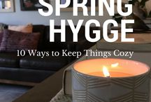 Hygge Home Inspiration / Cozy home