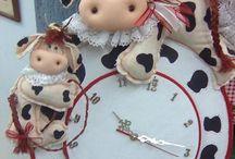 reloj de vaca