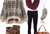Winter Fashion / Chic, but warm and how to look good while sipping a mulled wine and nibbling on a mince pie....
