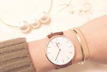 時計とブレスレット