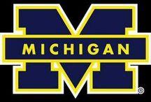Go Blue! / Michigan Wolverines / by Betsy MacCallum