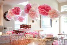 décoration anniversaire Lila