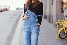 Spotted...Dungarees