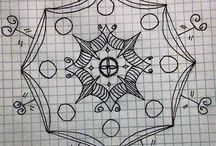 Mandala Challenge / The challenge involves drawing a mandala everyday for 2 weeks. Here's how mine turned out