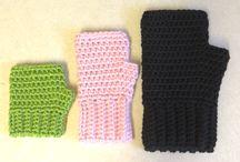 crochet fingerless gloves free