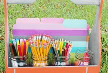 Back to School! / Going back to school might be a sore subject for the kids, but here are a few creative ideas for making it a celebration!