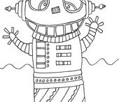 Coloring Pages - Misc.