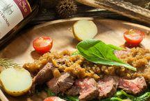 鹿肉レシピ画像(ランプ肉)