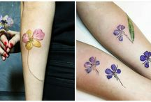 Botanical Tattoos by Rita Zolotukhina