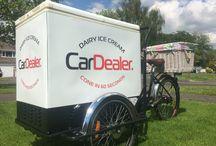 Branding / Branded ice cream bicycles