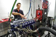 Engine Test Rooms / Rooms specially designed to mitigate the noise from testing engines