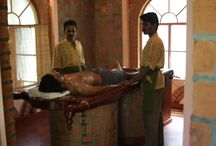 Ayurvedic Treatment / Ayurveda is ancient knowledge that indicates the very measure of life, advising on the appropriate and inappropriate, happy and sorrowful conditions of living, and recommending practices auspicious for longevity.