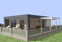Projekty rodinných domov, montované domy, drevodomy, nízkoenergetické domy