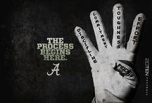 ROLL TIDE ROLL... My Alabama Football / by Casey Long