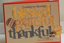Cards - Thanksgiving/fall / by Jean Story