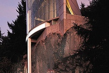 Архитектура   на рельефе