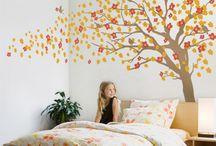 árbol en pieza