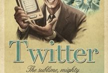 Vintage Social Media Posters / by SocialKaty, Inc.