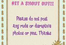 •Followers Board (please be respectful with your pins and don't follow unless I invite you)•
