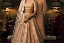 Indian wedding bridal lehnga