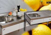 Trinette Specialkök / Funktionellt kök för seniorboende eller för människor med funktionshinder.