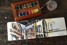 Urban Sketiching