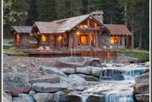Log Cabin Homes / Dream home / by Andrea Rooks
