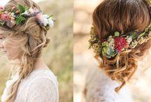 Cabelos com Flores - Noivas