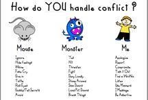 Handle conflict