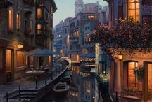 Eugene Lushpin / Russian artist from Moscow (1966-