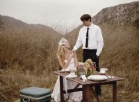 La vie boheme: A Vintage Bride & Wedding