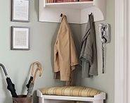 coat rack corner